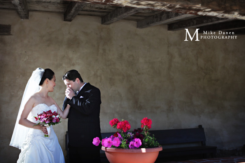 Mike Danen wedding photographer Mission Carmel