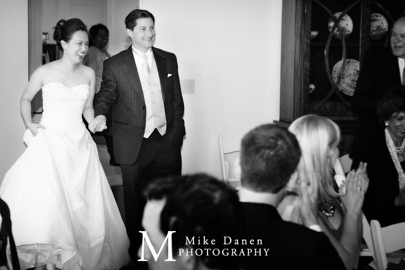 wedding photography grand entrance carmel La Mirada Mike Danen