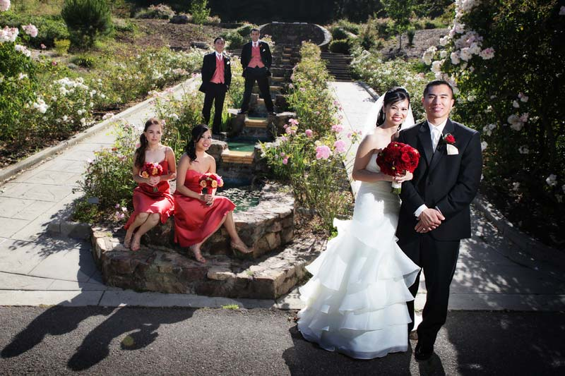 Morcom Rose Garden Oakland wedding photographer Mike Danen