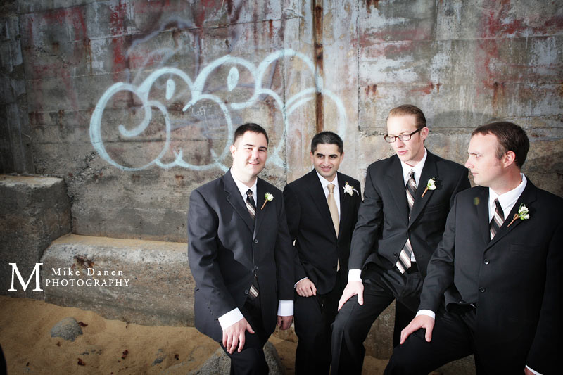 groomsmen monterey plaza hotel wedding photography mike danen