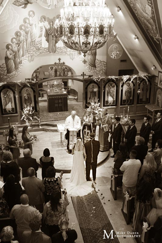 saints peter and paul orthodox church wedding photographer mike danen
