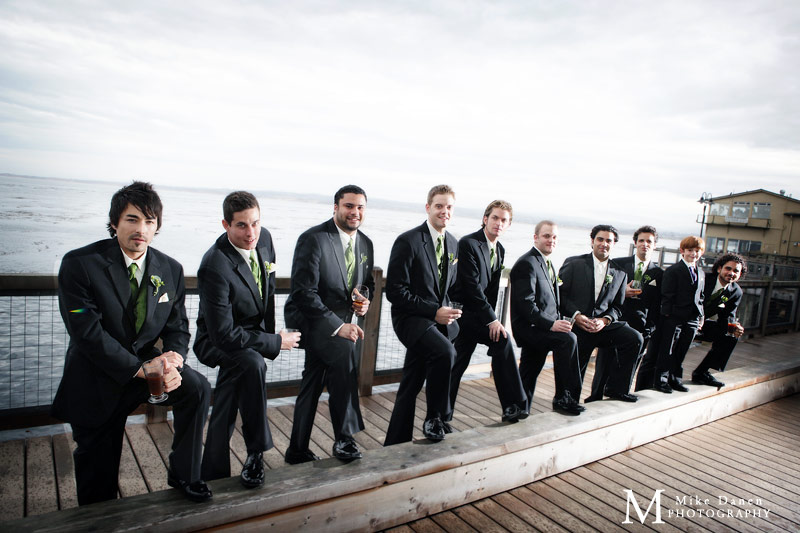 InterContinental The Clement Monterey wedding photographer Mike Danen