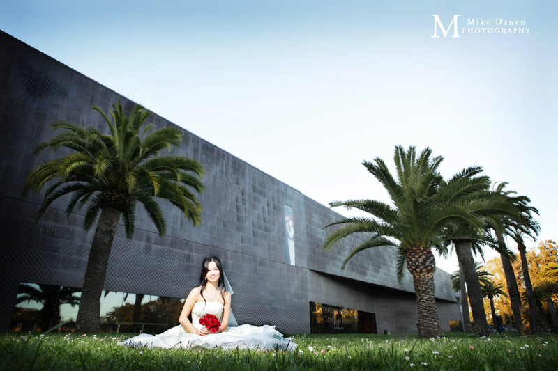 DeYoung Museum wedding photography Mike Danen