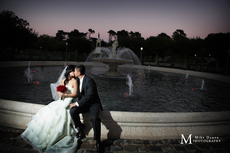 DeYoung Museum wedding photographer Mike Danen