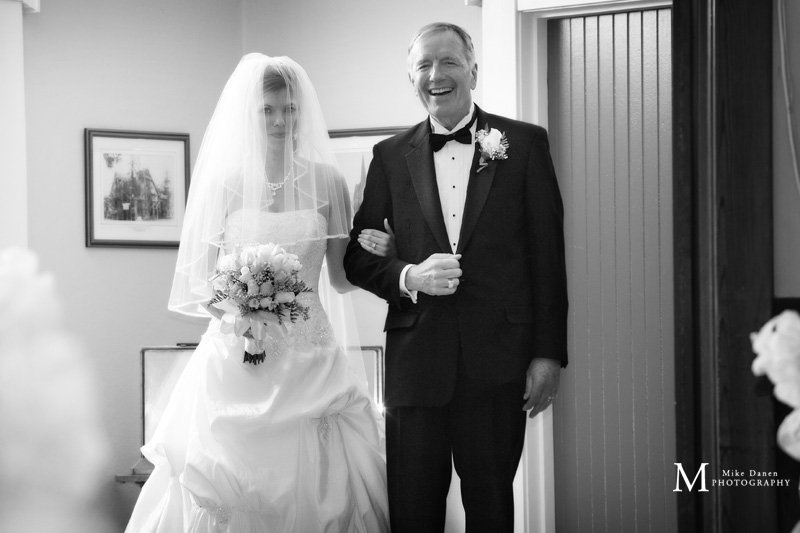 Mayflower Presbyterian Church wedding photographer Mike Danen
