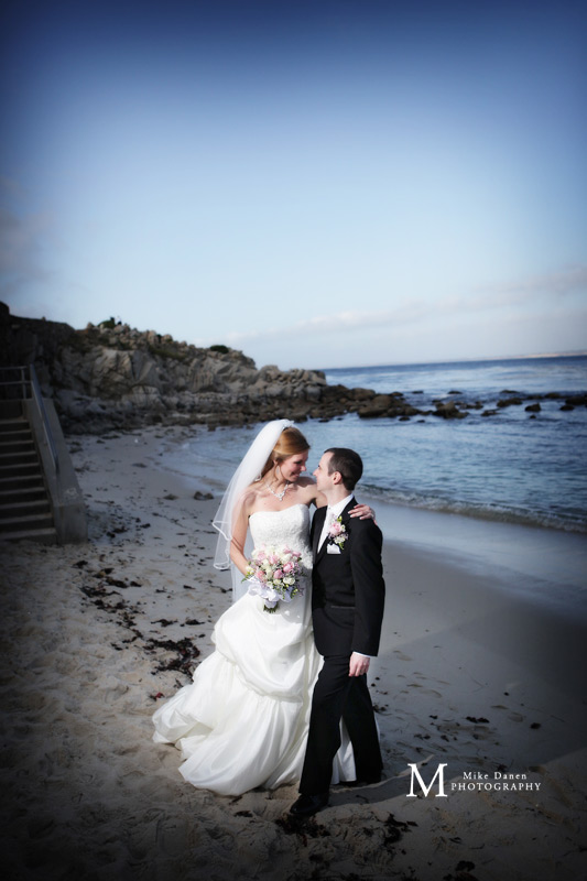 Lover's Point Pacific Grove wedding photographer Mike Danen