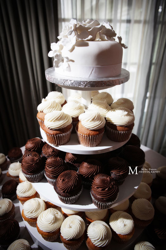 Layers Monterey wedding cakes photographer The Clement Mike Danen