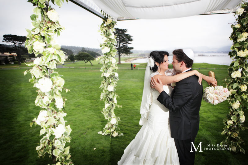 Pebble Beach wedding photographer Mike Danen