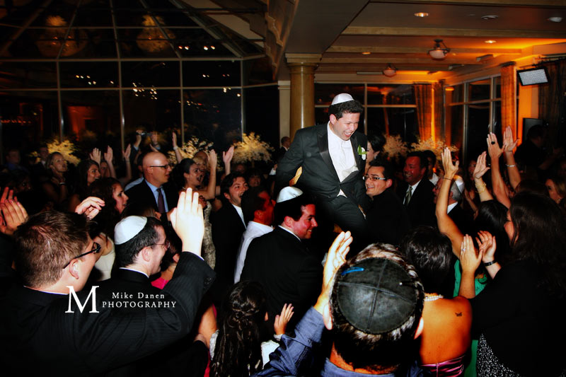 The Hora Pebble Beach Jewish wedding photographer Mike Danen
