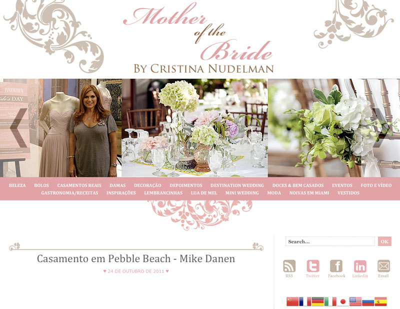 Mother of the Bride blog Brazil wedding planning Pebble Beach photographer Mike Danen