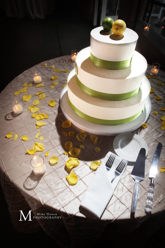 Wedding cake by The Buttery at Kennolyn