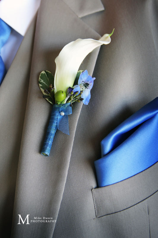 Boutonniere by Fleurish Floral Designs
