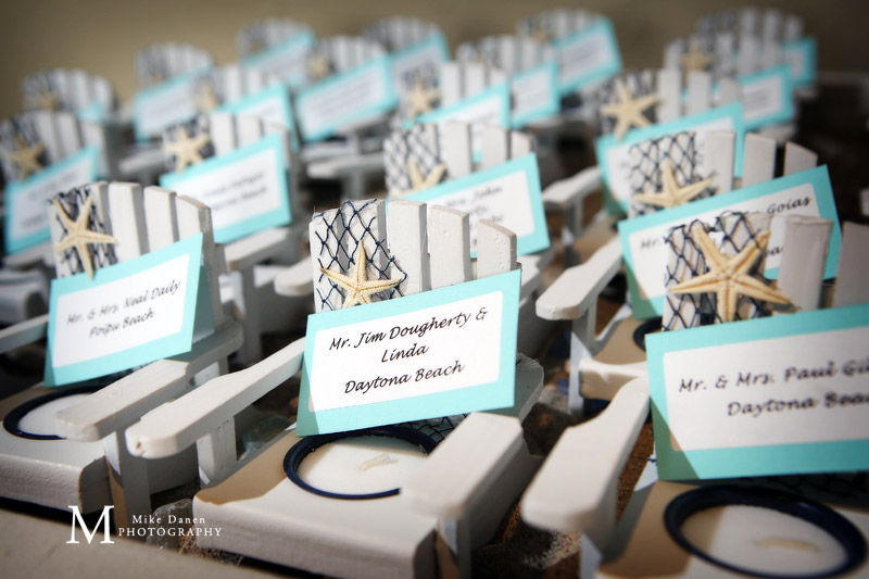 Wedding seating details