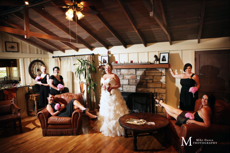 Bridesmaids at Holman Ranch
