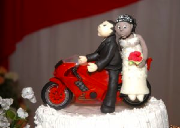 hipster wedding cake topper