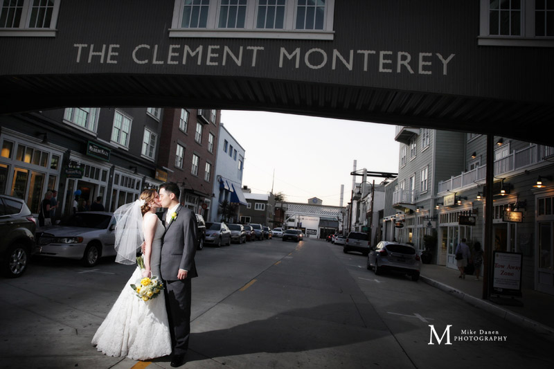 The Clement InterContinental Monterey wedding