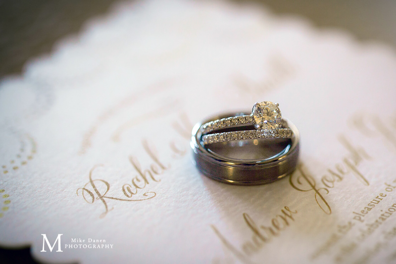 Seascape Resort wedding rings