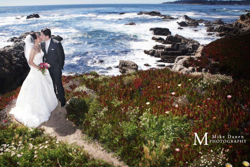 Point Lobos Carmel River State Beach Wedding Photographer Mike Danen